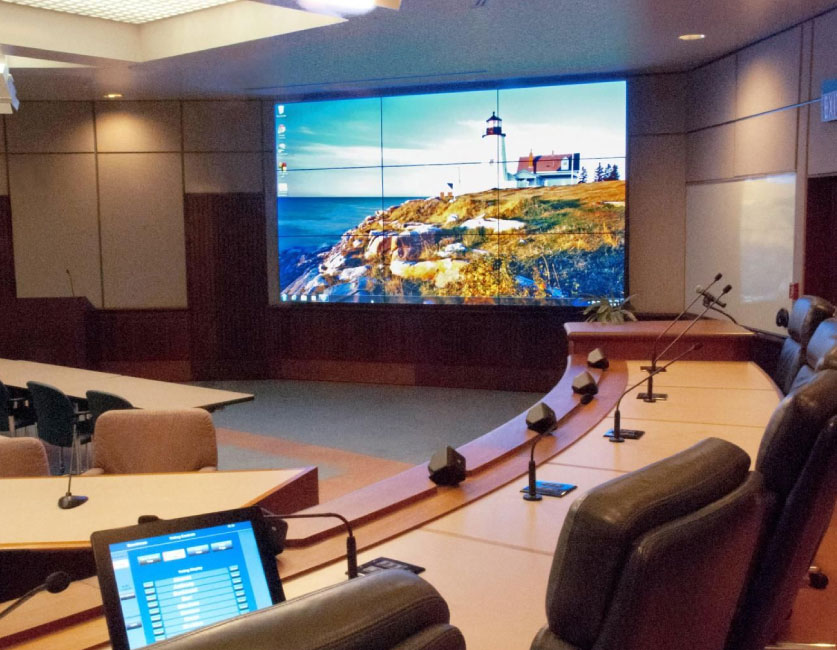 PixelPlus LED Screen for Meetings