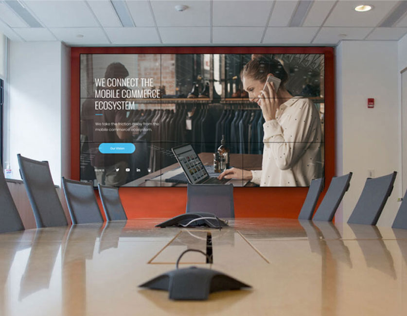 PixelPlus.ae Video wall for Meetings