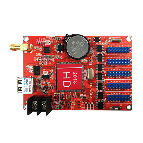 Huidu wireless led controller HD-W62